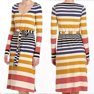 Anthro Saturday Sunday Riley Sweater Dress Striped